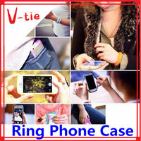 3D customized silicone cell phone case/creative sublimation phone cover