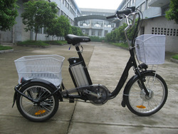 20' three wheels cargos bike / three wheels electric bike with EN15194 / electric tricycle cargos