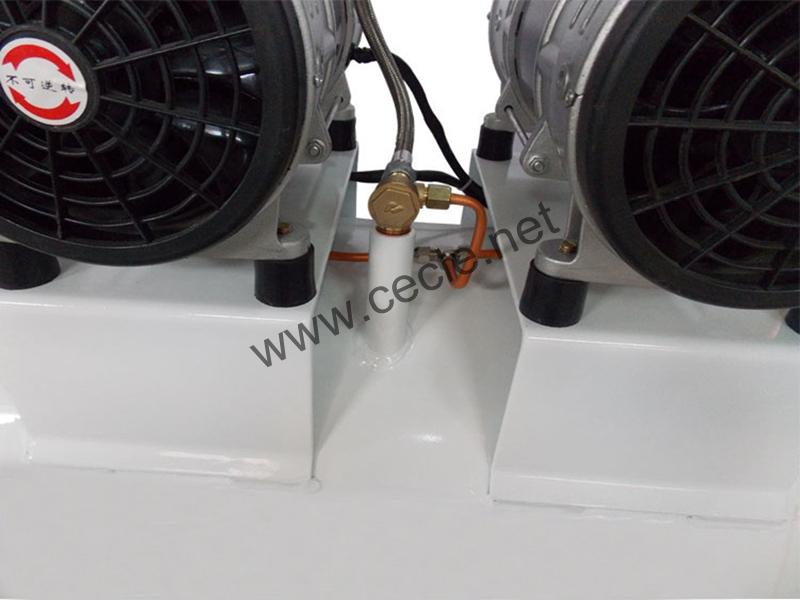 AC power mute piston air compressor 220v