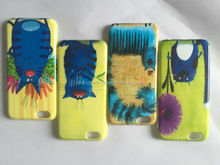 custom mobile phone case from smofreer factory,gold flash in powder articles and frosted customize for iphone 6/6 plus