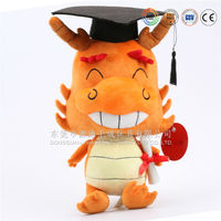 Promotion product plush stuffed dragon chinese toy manufacturers