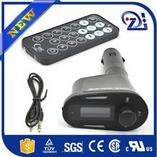 "1.5"" LCD Car Kit MP3 Player SD MMC USB Remote FM Transmitter Modulator"