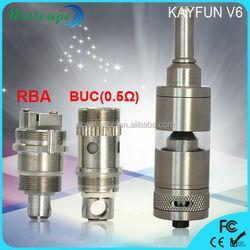 Best selling sub ohm RAD arctic atomizer kayfun v6 atomizer