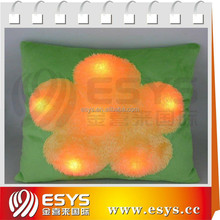 Plush led light animal pillow with customized led and sound module