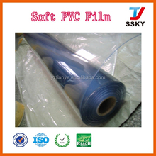 Clear transparent pvc film flexible plastic sheet