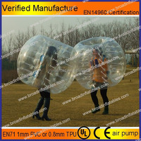 HOT!! Best selling popular body inflatable ball suit/body bubble zorb