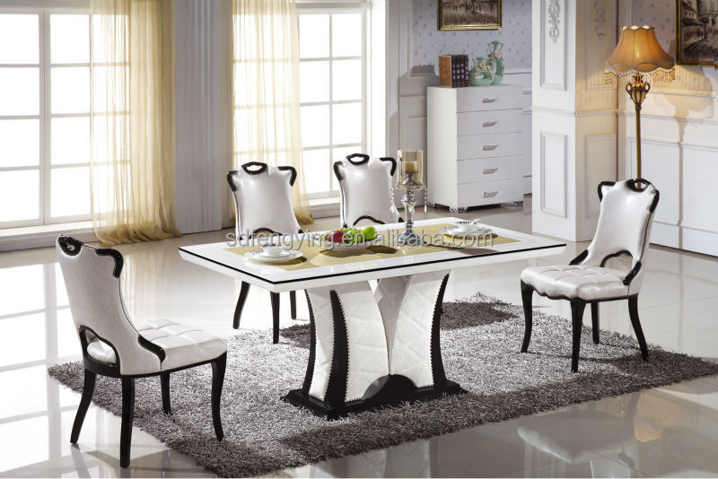 Cheap marble table and chairs images captivating v dining - Table a manger pas cher ikea ...