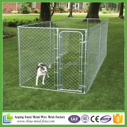 wholesale hot dip galvanized chian link style Fancy Portable Dog Kennels Sale