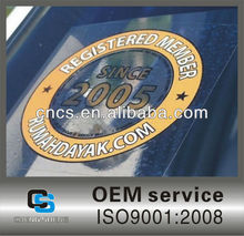 Weather Resistance Custom Car Sticker,Best price custom car stickers