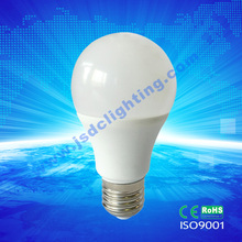 caliente-venta de alto lumen 12w 1200lm led lámpara