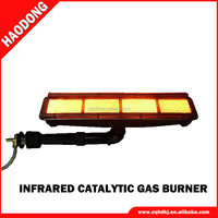 Envirement- friendly ecoflam cast iron burner for spray boothHD162