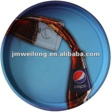 Rounded Full Color Printing Beverage Serving Tray