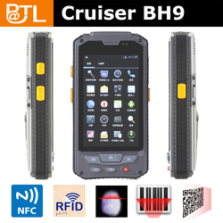 Cruiser BH9 CF0022 waterproof Dual core 1d Bar Code Handheld Computer