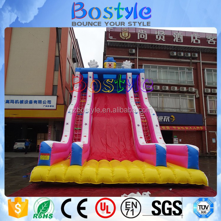 Inflatable Water Slide Safety Rules: Free Fall Giant Inflatable Water Slide For Outdoor