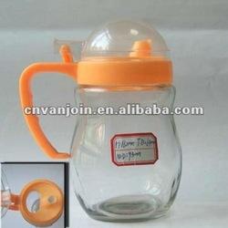 600ml Glass Soy Cruet With Plastic Cap