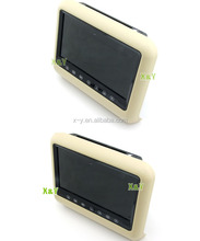 "9"" TFT LCD Headrest Monitor DVD car pillow tft lcd monitor(XY-7090)"