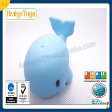 dolphin vinyl plastic toy, baby bath toy