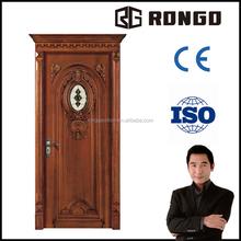 Rongo OAK wood solid door with good price