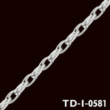 2015 popular jewelry accessories palladium chains