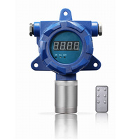 Stationary online data display EX flammable flue gas analyzer