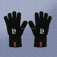 ningbo hot selling new design beautiful cheap knitted magic gloves