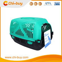 Chi-buy Airline Pet Carrier Large Plastic Pet Carrier Blue and Black Free Shipping on order 49usd