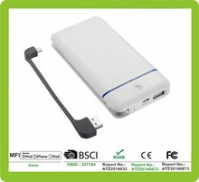 2015 new portable charger universal smartphone charger 10,200mAh