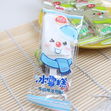clear food bag packaging/sugar plastic popsicle packaging bag