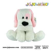 plush toys soft stuffed dog breathing dog sleeping