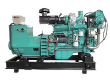 Water Cooled Engine 100kw Marine Diesel Generator