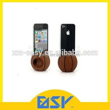 Cool basketball shape phone stand speaker