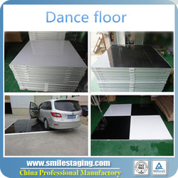 cheap portable wooden dance floor foraliexpress/car show xxx china video used dance floor