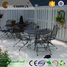 New products decking board wood plastic composite price