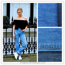 2012 the best selling 100% cotton denim fabric used for jeans made in china