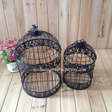 wedding decorative antique hanging bird cages