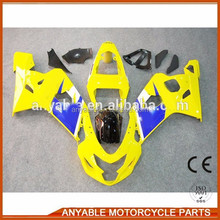 China new design popular popular GSXR600/750 2004 2005 for suzuki motorcycle fairing kit