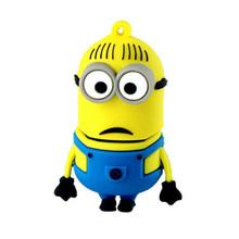 2015 bulk cheap price 1gb usb pen drive novelty cartoon Minions usb stick,REAL 4GB 8GB 16GB 32GB 64GB pendrive
