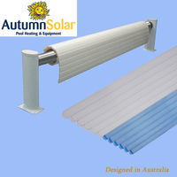Swimming pool rigid PC slats cover for saving energy in outdoor pools