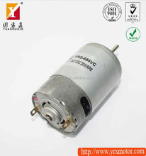 Price for 12v dc car radiator fan motor/electric gear motor shaft material