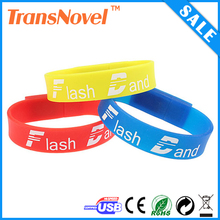 Custom USB Silicon Wristband Flalsh Driver, Custom USB bracelet memory stick