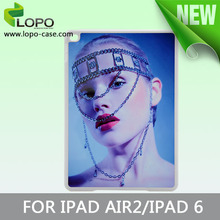 Sublimation silicone rubber phone case for Ipad air2 from LOPO