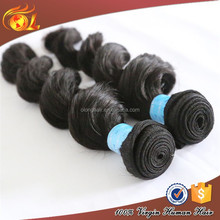 Grade 6A Human Hair Weft, Natural Remy Hair Weft, Brazilian Human Hair Wet and Wavy Weave