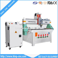 Wood,Acrylic,Plywood,Mdf,Aluminum Plate,Plastic Board,Woodworking Router KING Cnc / Cnc Router Machine K-1530