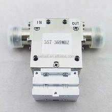 357-369 MHz coaxial isolators /circulators China supplier