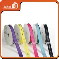wholesale 100% polyester printed satin ribbon