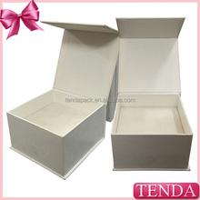 Newest hot selling satin and velvet insert pendant box