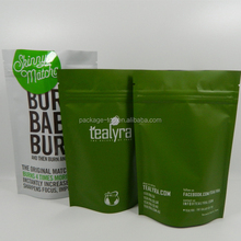 Food safe and CMYK biodegradable bags packaging for facial mask