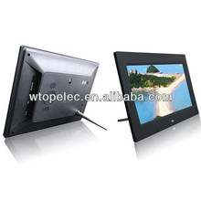 High Resolution 1024x600 Slim 10 inch Digital Photo Frame,Electric Digital photoframe Support Music,Video,Photo Autoplay