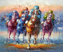 Famous Artists Handmade High Quality Good Price Impressionist Horse Oil Painting on Canvas for Wall Decoration