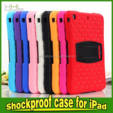 Full Prortection Case For IPad Mini Cover With Artificial Diamond